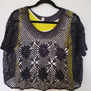 COPY - Free People sunflower lace crochet Romantic
